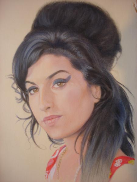 Amy Winehouse by ceceach